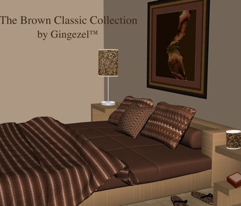 Brown Geometric © Gingezel™