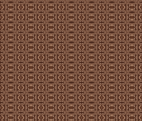 Brown Geometric © Gingezel™ fabric by gingezel on Spoonflower - custom fabric