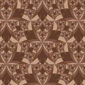 Mid Tone Brown Stylized Iris © Gingezel™