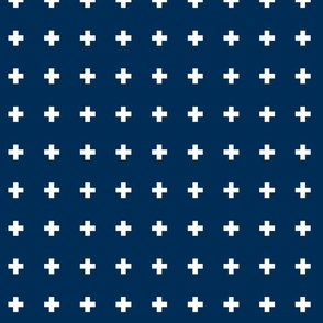 cross invert navy blue