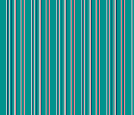 Mongolian Steppes stripe fabric by stitchandyarn on Spoonflower - custom fabric