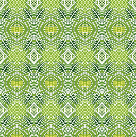 Three, Two, One, Green Light fabric by edsel2084 on Spoonflower - custom fabric