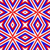 Red White Blue Dazzle