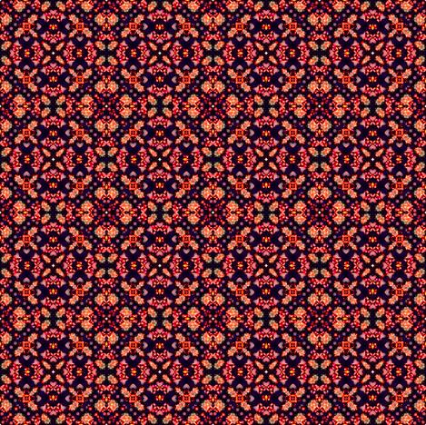 Kaleido-Wheel 10 fabric by phosfene on Spoonflower - custom fabric