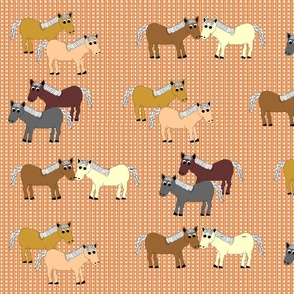 Devon_Meadows_Sunshine_and_Rain__Horses