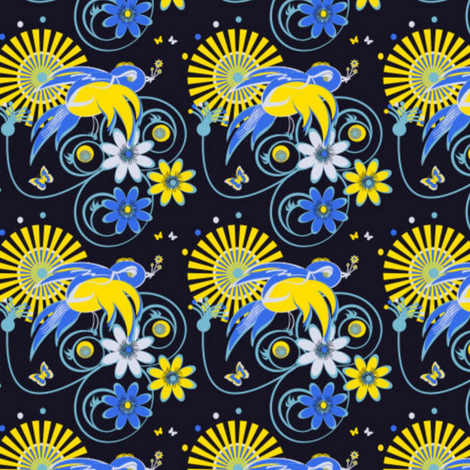 COLOURlovers-ed fabric by clairecoloursme on Spoonflower - custom fabric