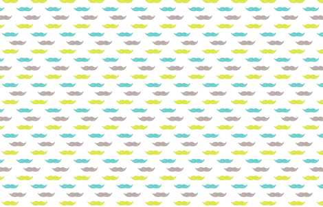 mnl-stache fabric by bomichelle on Spoonflower - custom fabric