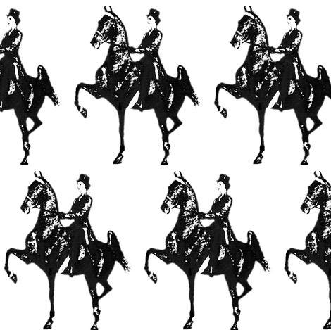 Lovely Lady fabric by redmares on Spoonflower - custom fabric
