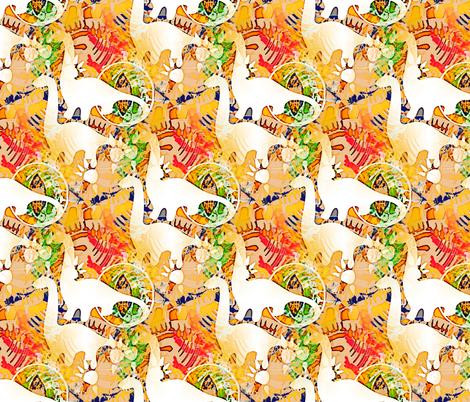 dino fabric by preeta on Spoonflower - custom fabric
