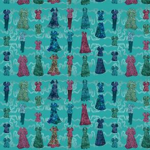 Batik Fashions - small - turquoise