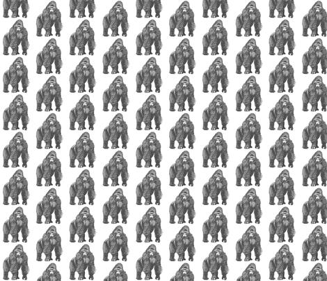 King Kong  fabric by georgie88 on Spoonflower - custom fabric