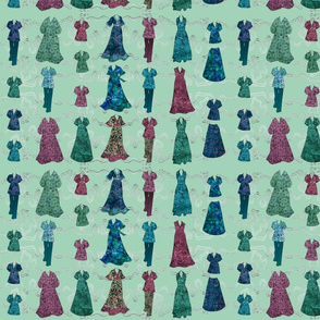 Batik Fashions - small - lt-green