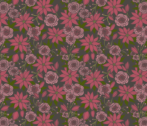 Floral 10 fabric by nikijin on Spoonflower - custom fabric