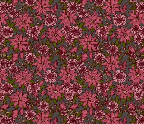 Floral 11 fabric by nikijin on Spoonflower - custom fabric