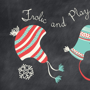 Frolic And Play Chalkboard Tea Towel