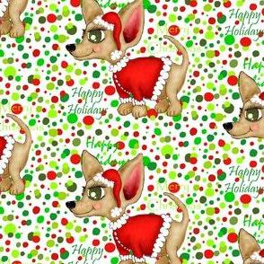 Christmas Chihuahua or Merry Chi-mas!