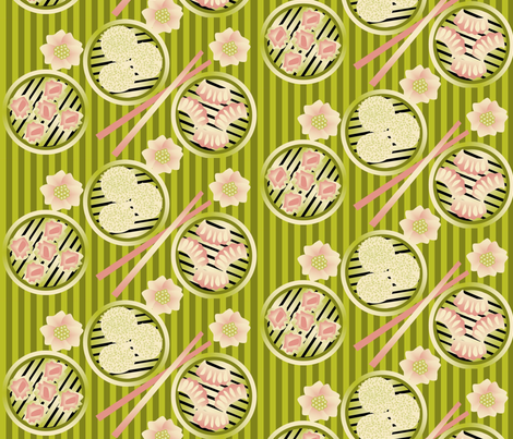 dim_sum fabric by roxiespeople on Spoonflower - custom fabric