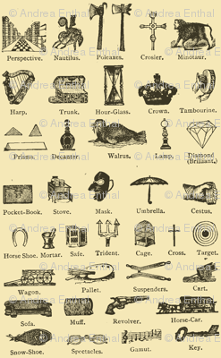 Common Objects of the Steampunk World