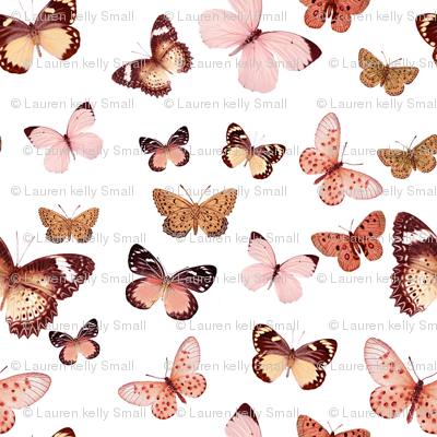 Butterfly Rose Gold, Mini