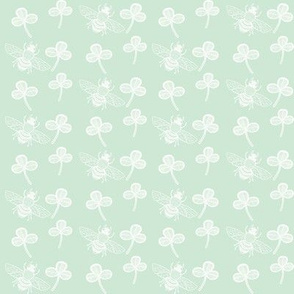 Clover & Bee, Pale Duckegg Green