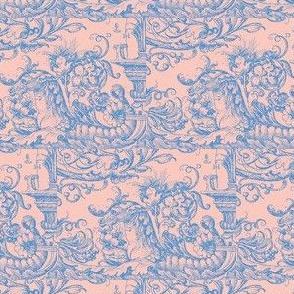 Sea Horses Shell Pink