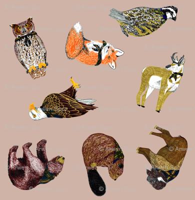 Good Ol' Critters Dove Grey