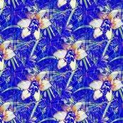 Gimp_seamless_surface_design_autumn_crocus_w_on_b_blkg_10x9_shop_thumb