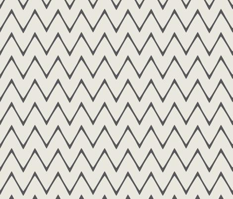 ekko_chevron_skinny fabric by holli_zollinger on Spoonflower - custom fabric