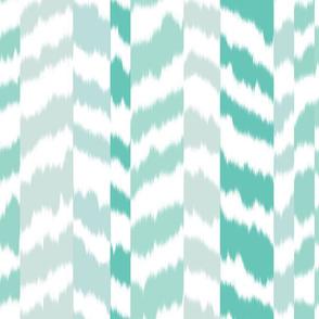 zig_zag_stripe_sheared_Aqua_Green_colour