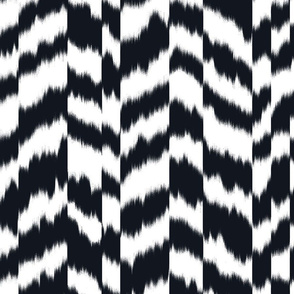zig_zag_stripe_sheared_Black_and_White