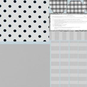 Grey spots n stripes