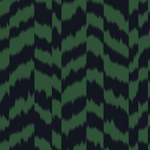 zig_zag_stripe_sheared_Black_Forest_Green