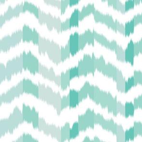 zig_zag_Mountain_stripe_Aqua_Green_colour