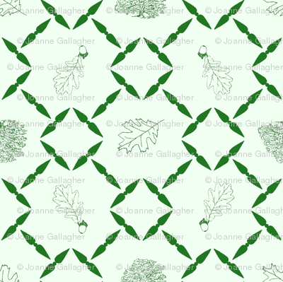 Green_shaded_Oak_block_for_fabric_1
