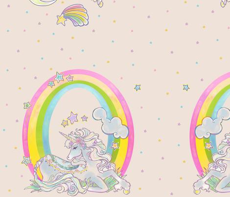 Kawaii Ponies fabric by spiffydame on Spoonflower - custom fabric