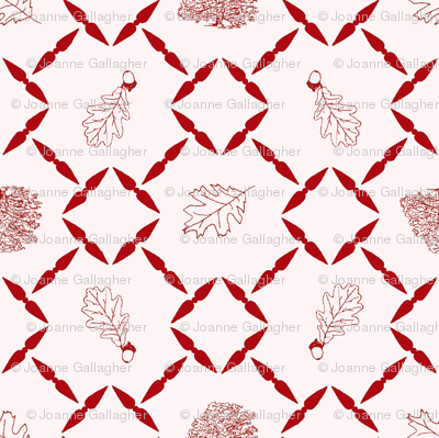 Red_shaded_Oak_block_for_fabric_1