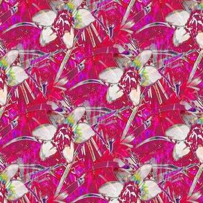 Neon Red Autumn Crocus