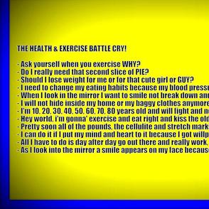 Exercise Battle Cry