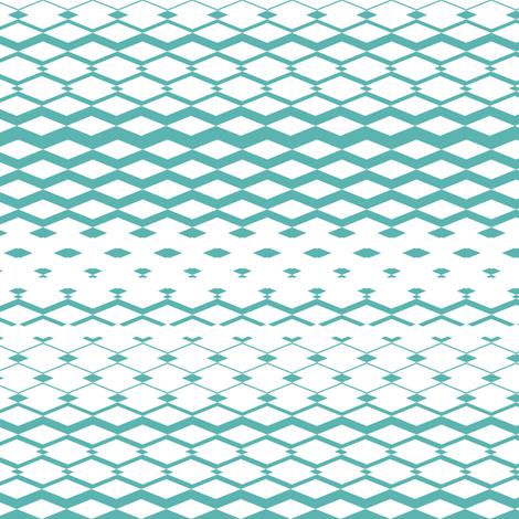 MintDiamonds fabric by mrshervi on Spoonflower - custom fabric