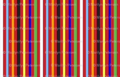 Red Clown Stripe