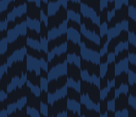 zig_zag_stripe_sheared fabric by aygeartist on Spoonflower - custom fabric