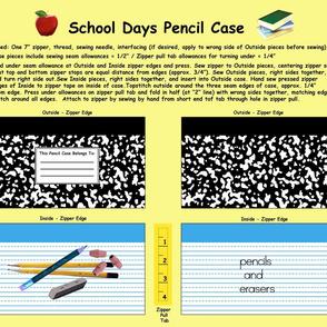 School Days Pencil Case