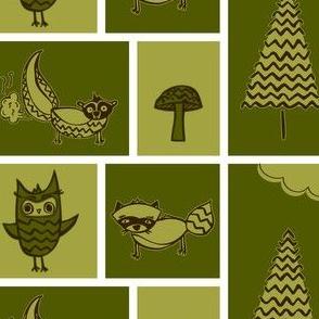 Forest Animal Blocks