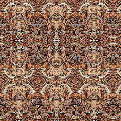 An Orange Chocolate Creme For 1919 fabric by edsel2084 on Spoonflower - custom fabric