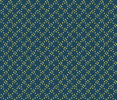 Cicle dot - turquoise fabric by feliciadavidsson on Spoonflower - custom fabric