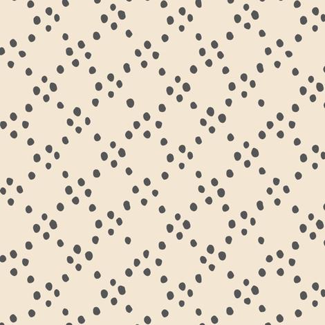 Circle dots - grey fabric by feliciadavidsson on Spoonflower - custom fabric