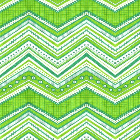Eyed Chevron fabric by siya on Spoonflower - custom fabric