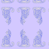 celtic cat 8 delft blue-purple