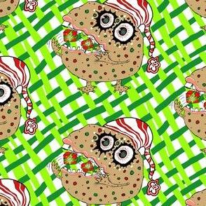 Christmas Fruitcake Monster