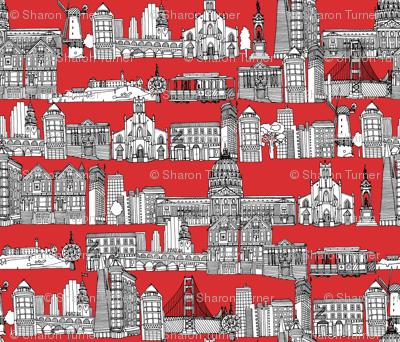 San Francisco red